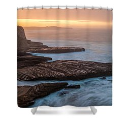 Santa Cruz Sunrise Shower Curtain
