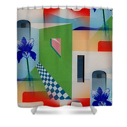 Santa Fe Adobe - #1 Shower Curtain