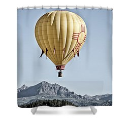 Santa Fe Air Force Shower Curtain