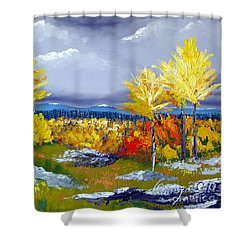 Santa Fe Aspens Series 5 Of 8 Shower Curtain