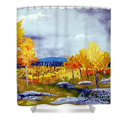 Santa Fe Aspens Series 6 Of 8 Shower Curtain