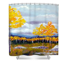 Santa Fe Aspens Series 8 Of 8 Shower Curtain