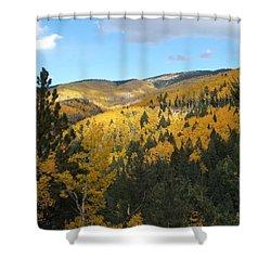 Santa Fe Autumn View Shower Curtain