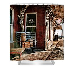 Santa Fe Depot Of Guthrie Shower Curtain