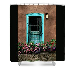 Santa Fe Door #1 Shower Curtain