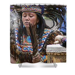 Santa Fe - La Shamana Shower Curtain