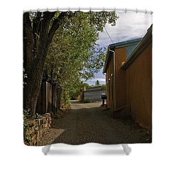 Santa Fe Road Shower Curtain by Madeline Ellis