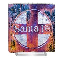 Santa Fe Rr Shower Curtain