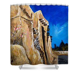 Santa Fe Stroll Shower Curtain