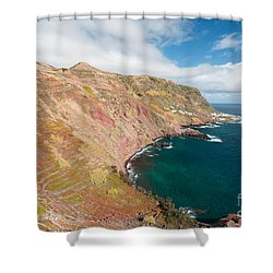Santa Maria - Azores Shower Curtain by Gaspar Avila