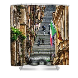 Santa Maria Del Monte Shower Curtain