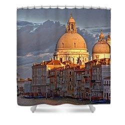 Santa Maria Della Salute Shower Curtain by Heiko Koehrer-Wagner