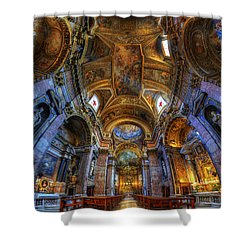 Santa Maria Maddalena Shower Curtain by Yhun Suarez