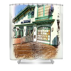 Santa Monica Pier Ver 2 Shower Curtain