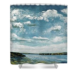 Santa Rosa Lake 1 Shower Curtain