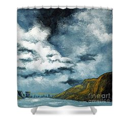 Santa Rosa Lake 3 Shower Curtain