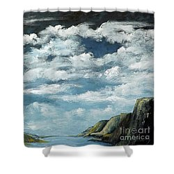 Santa Rosa Lake 4 Shower Curtain