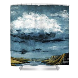 Santa Rosa Lake 5 Shower Curtain