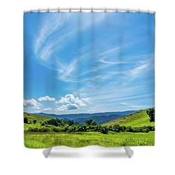 Santa Teresa County Park Shower Curtain