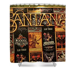 Santana House Of Blues Shower Curtain