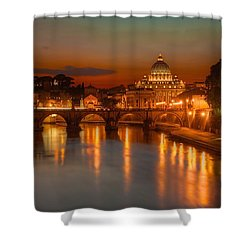 Sant'angelo Bridge Shower Curtain