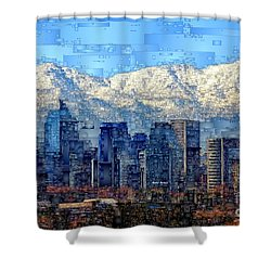 Santiago De Chile, Chile Shower Curtain