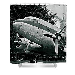 Classic Aircraft Douglas Dc-3 Shower Curtain