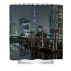 Sao Paulo Bridges - 3 Generations Together Shower Curtain