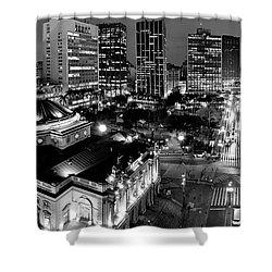 Sao Paulo Downtown - Viaduto Do Cha And Around Shower Curtain