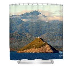 Sao Tome Africa Harbor Shower Curtain