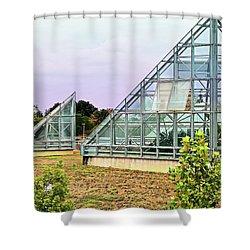 Saolariums At San Antonio Botanical Gardens Shower Curtain