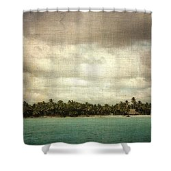 Saona Island , Santo Domingo Shower Curtain