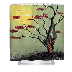 Sapling Shower Curtain