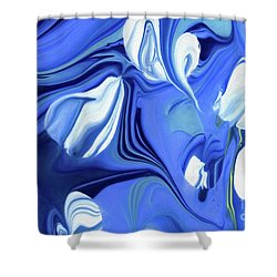 Sapphire Dreams Shower Curtain
