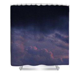 Sapphire Storm Shower Curtain by Joshua Bales