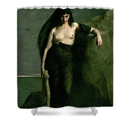 Sappho Shower Curtain