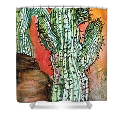 Saquaros Shower Curtain