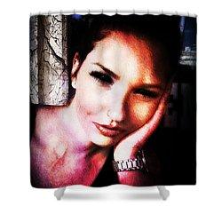 Sarah 3 Shower Curtain