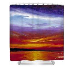 Sarasota Bay I Shower Curtain by James Christopher Hill