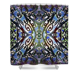 Sarasota Swirls Shower Curtain