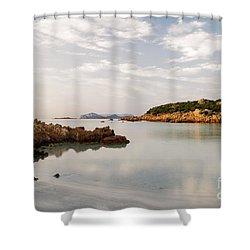 Sardinian Coast I Shower Curtain by Yuri Santin