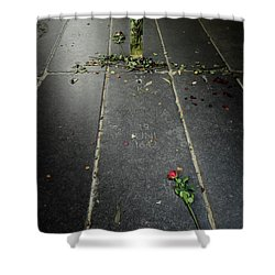 Shower Curtain featuring the photograph Saskia Rembrandt's Tomb by RicardMN Photography
