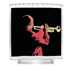 Satchmo Shower Curtain