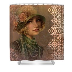 Satin And Lace 2016 Shower Curtain