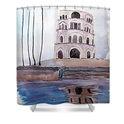 Satkhanda Lucknow Shower Curtain