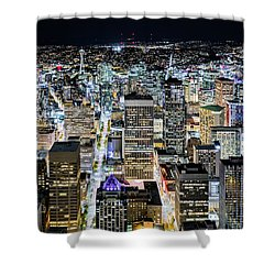 Seattle Lights Shower Curtain