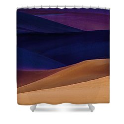 Saturation Shower Curtain by Brian Duram