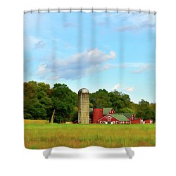 Sauer Farm, Mt. Marion Shower Curtain