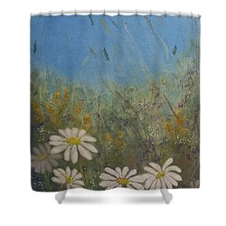 Savage Garden Shower Curtain