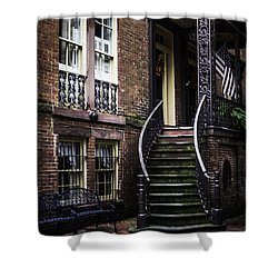 Shower Curtain featuring the photograph Savannah by Judy Wolinsky